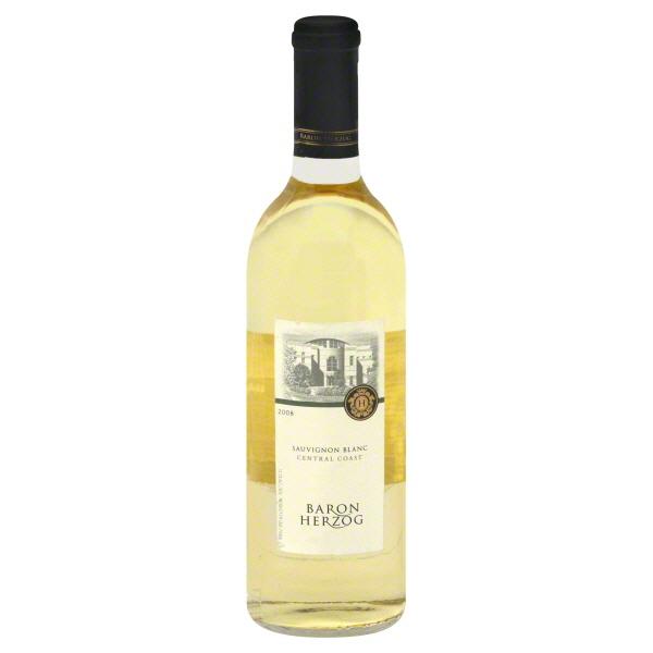 Baron Herzog Kosher Sauvignon Blanc Adel