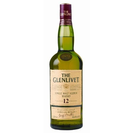 The Glenlivet 12 Year Old Single Malt Scotch Adel