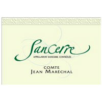 Comte Jean Marechal Sancerre Blanc Label Adel