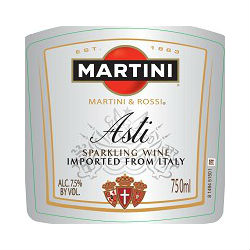 Martini & Rossi Asti Label Adel