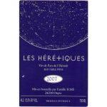 Château d'Oupia Les Heretiques Vin de Pays de l'Hérault Label